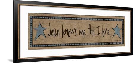 Jesus Knows Me, This I Love-Jo Moulton-Framed Art Print