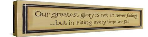 Greatest Glory-Karen Tribett-Stretched Canvas Print