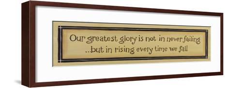 Greatest Glory-Karen Tribett-Framed Art Print