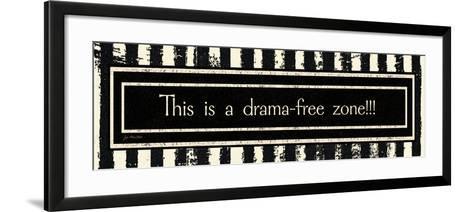 Drama-Free Zone-Jo Moulton-Framed Art Print