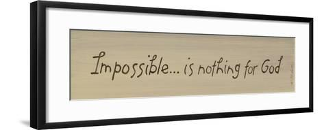 Impossible-Karen Tribett-Framed Art Print