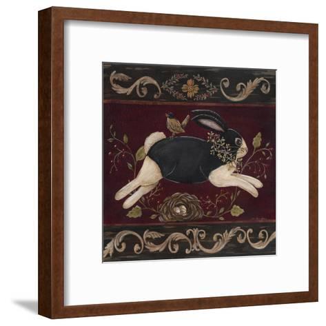 Folk Bunny I-Jo Moulton-Framed Art Print