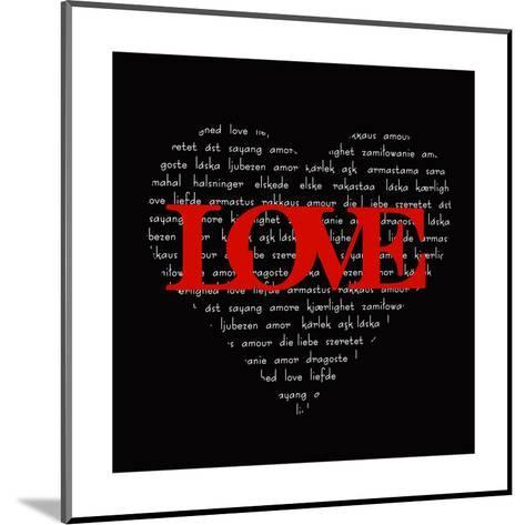Love Heart-Anna Quach-Mounted Art Print