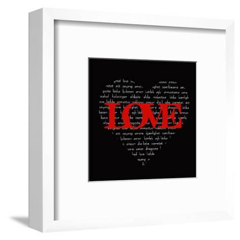 Love Heart-Anna Quach-Framed Art Print