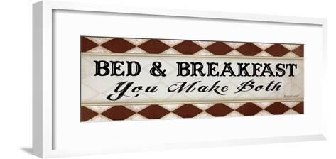 Bed and Breakfast-Jennifer Pugh-Framed Art Print