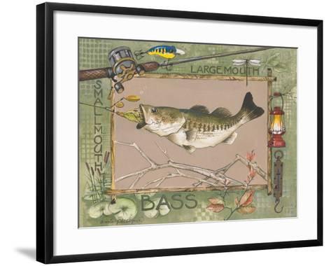 Large Mouth Bass-Anita Phillips-Framed Art Print