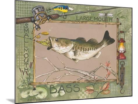 Large Mouth Bass-Anita Phillips-Mounted Art Print