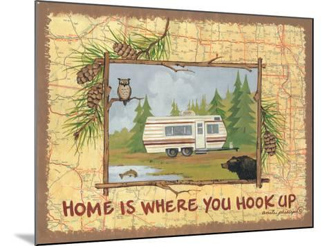 Home Is Where You Hook Up-Anita Phillips-Mounted Art Print