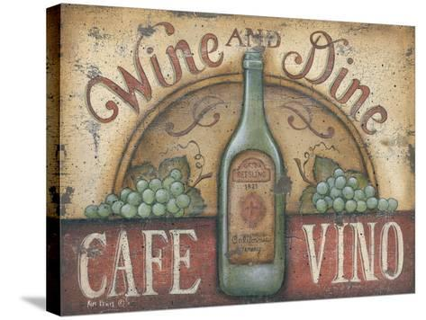 Wine and Dine-Kim Lewis-Stretched Canvas Print