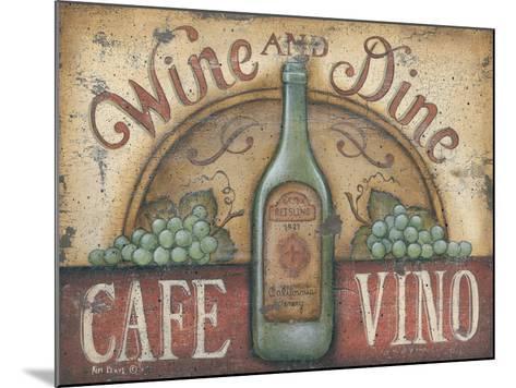Wine and Dine-Kim Lewis-Mounted Art Print