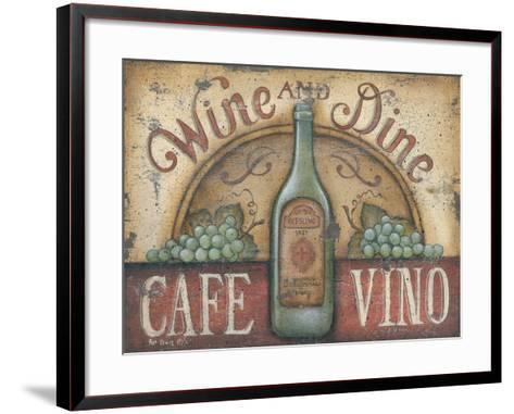 Wine and Dine-Kim Lewis-Framed Art Print