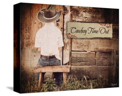 Cowboy Time Out-Shawnda Craig-Stretched Canvas Print