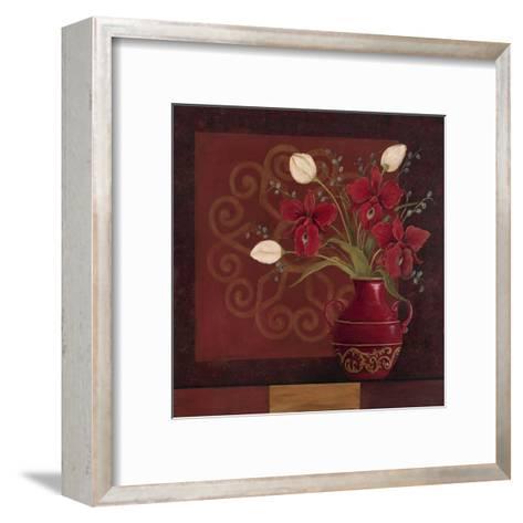 Tranquil Bouquet II-Jo Moulton-Framed Art Print