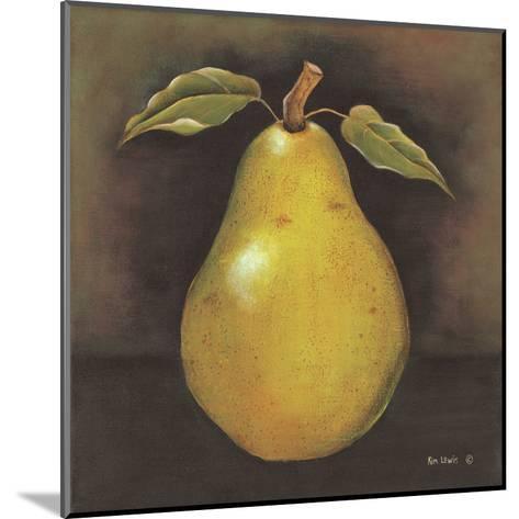 Green Pear-Kim Lewis-Mounted Art Print