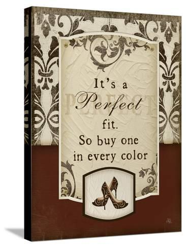Perfect Fit-Jennifer Pugh-Stretched Canvas Print