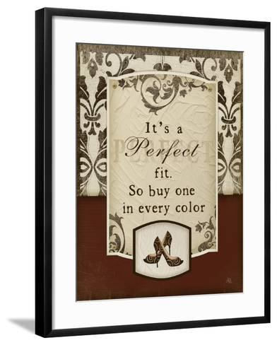 Perfect Fit-Jennifer Pugh-Framed Art Print