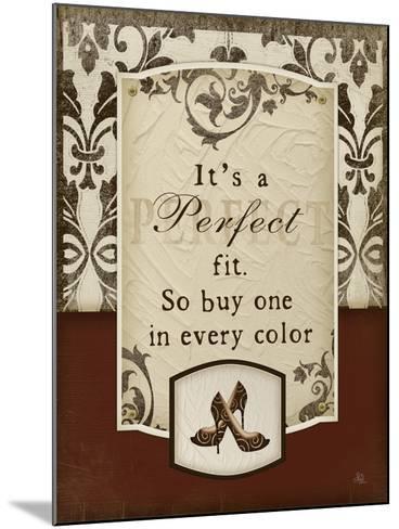 Perfect Fit-Jennifer Pugh-Mounted Art Print