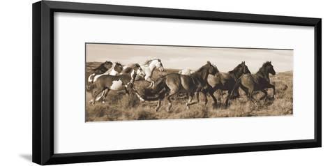 Wild Horses-Claude Steelman-Framed Art Print