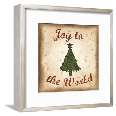 Joy to the World-Jennifer Pugh-Framed Art Print