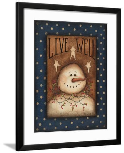 Live Well-Kim Lewis-Framed Art Print