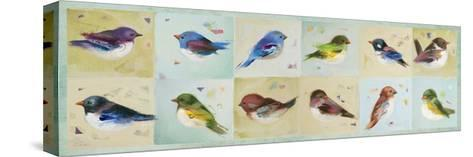 The Birds-Ninalee Irani-Stretched Canvas Print