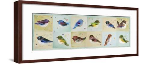 The Birds-Ninalee Irani-Framed Art Print