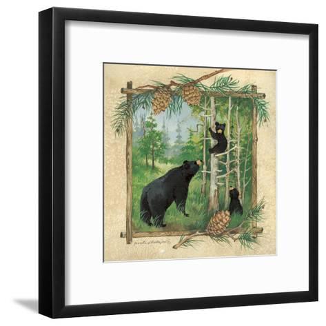 Black Bears II-Anita Phillips-Framed Art Print