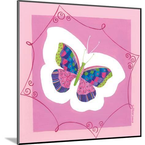 Butterfly III-Cindy Shamp-Mounted Art Print