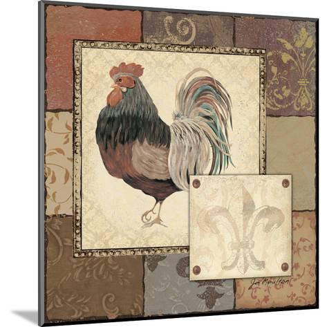 Rooster II-Jo Moulton-Mounted Art Print