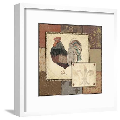 Rooster II-Jo Moulton-Framed Art Print