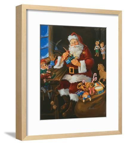Finishing Touch-Susan Comish-Framed Art Print