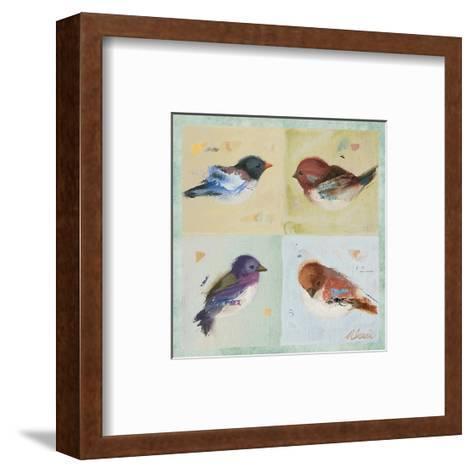 Birds I-Ninalee Irani-Framed Art Print