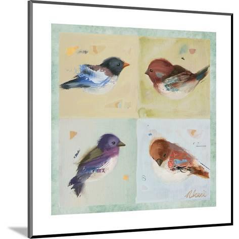 Birds I-Ninalee Irani-Mounted Art Print
