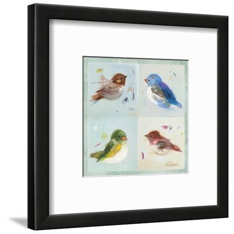 Birds II-Ninalee Irani-Framed Art Print