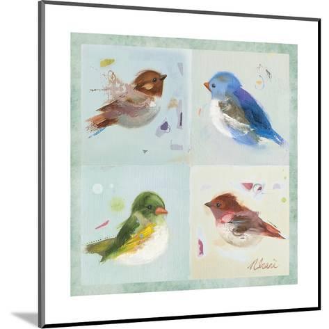 Birds II-Ninalee Irani-Mounted Art Print