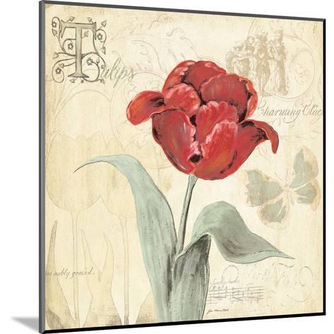 Tulip Gem I-Jo Moulton-Mounted Art Print