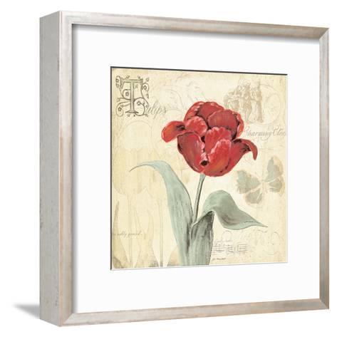 Tulip Gem I-Jo Moulton-Framed Art Print