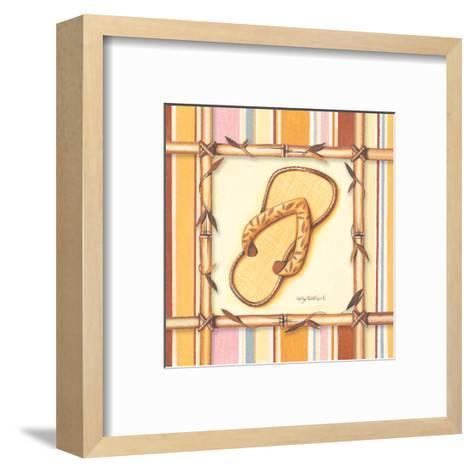 Bamboo Flip Flop I-Kathy Middlebrook-Framed Art Print