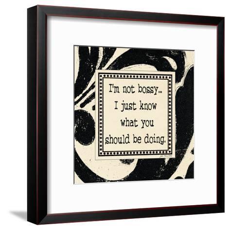 I'm Not Busy-Jo Moulton-Framed Art Print