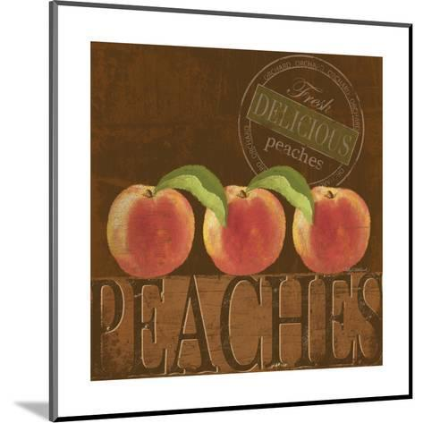 Delicious Peach-Kathy Middlebrook-Mounted Art Print