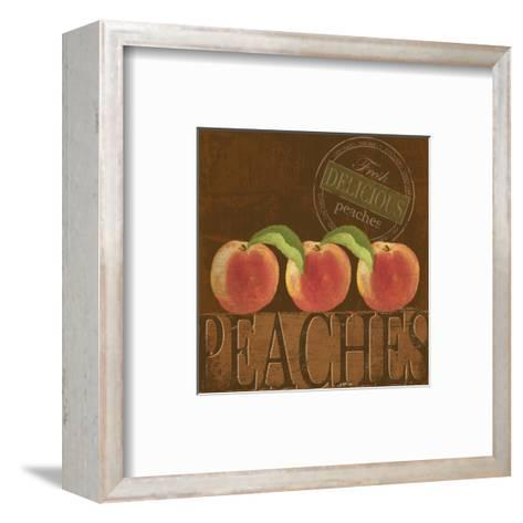 Delicious Peach-Kathy Middlebrook-Framed Art Print