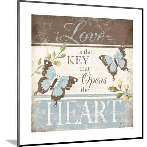 Love Is the Key-Kathy Middlebrook-Mounted Art Print
