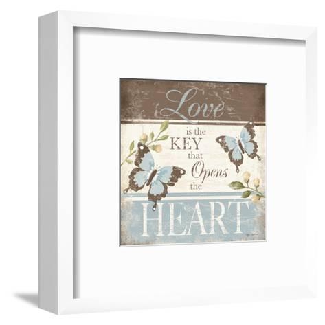 Love Is the Key-Kathy Middlebrook-Framed Art Print