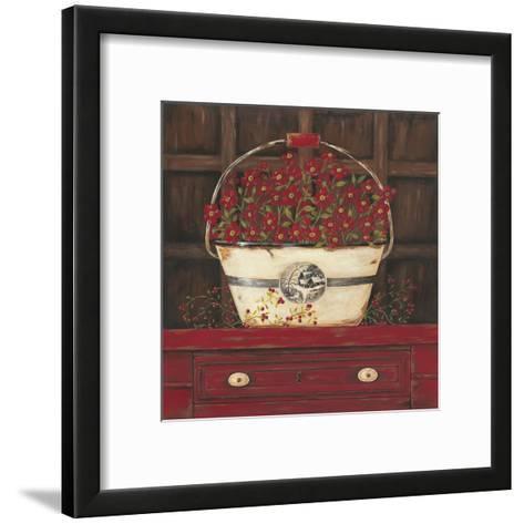 Red Cupboard II-Jo Moulton-Framed Art Print