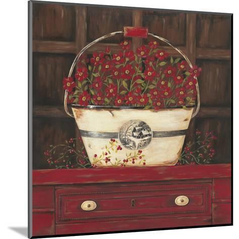 Red Cupboard II-Jo Moulton-Mounted Art Print
