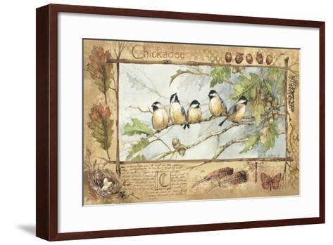 Chickadee-Anita Phillips-Framed Art Print