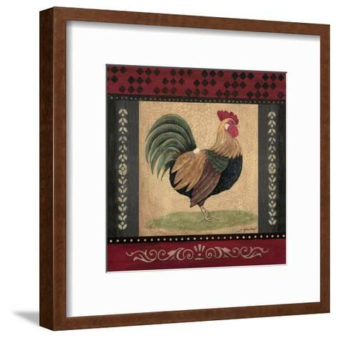 Rooster-Jo Moulton-Framed Art Print