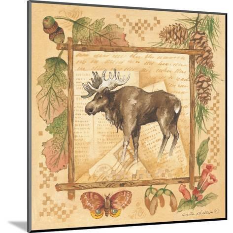 Moose-Anita Phillips-Mounted Art Print
