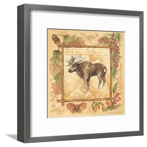 Moose-Anita Phillips-Framed Art Print