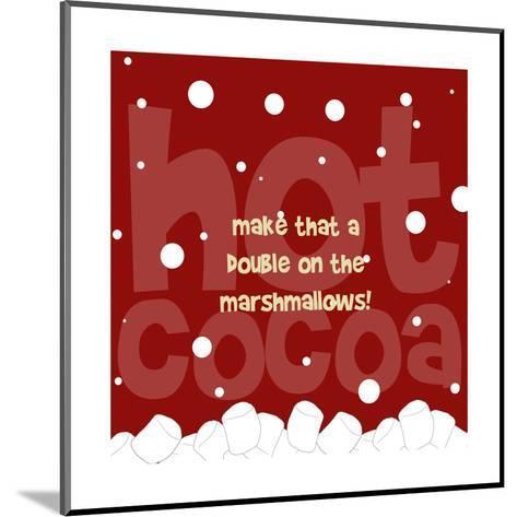Marshmallows-Anna Quach-Mounted Art Print